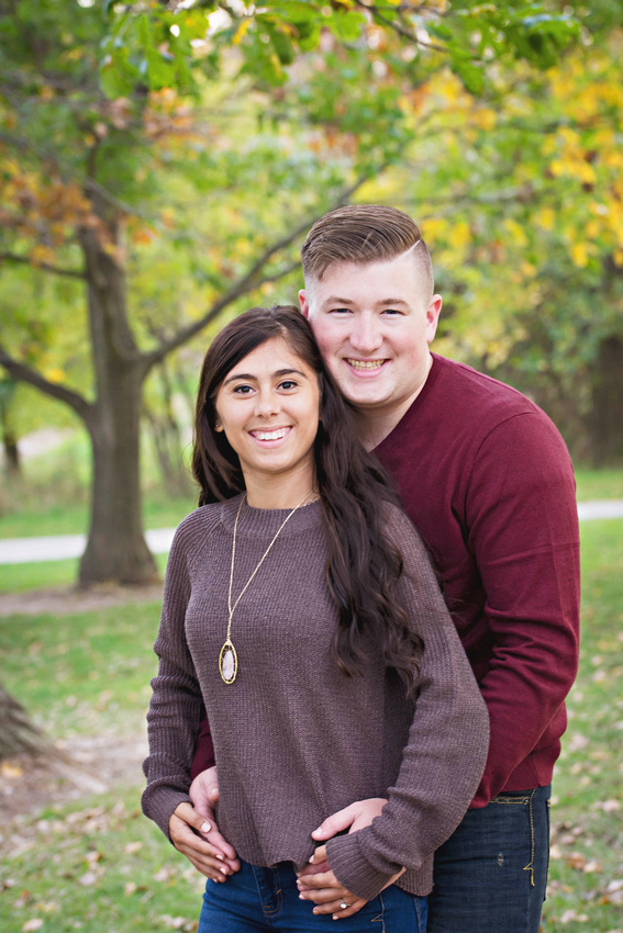 Jordyn and Austin Engagement Session 2017