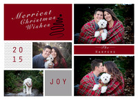 Harper Christmas Card front