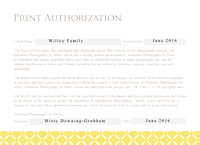 Print Authorization Card_Willey