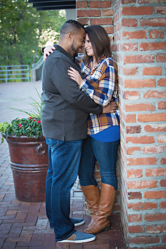 Engagement Session - Downtown Omaha